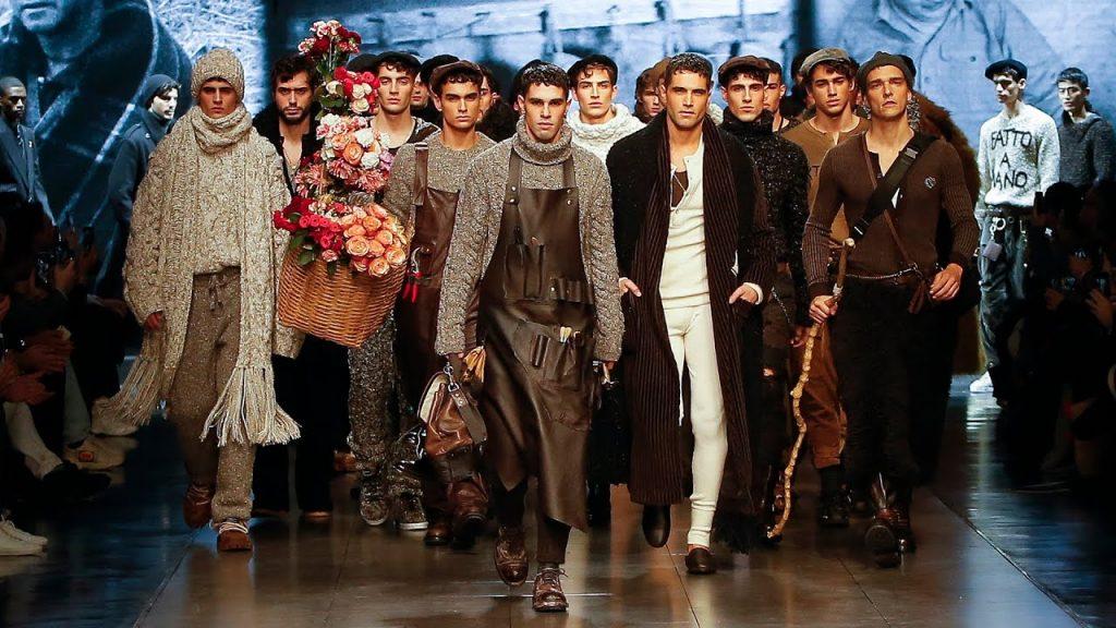 Dolce & Gabbana mang phong cách tối giản vào BST Thu/Đông 2020