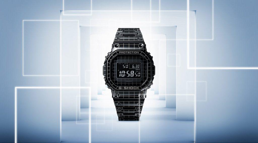 G-Shock Grid GMW-B5000CS: Ngụy trang chất chơi xa xỉ