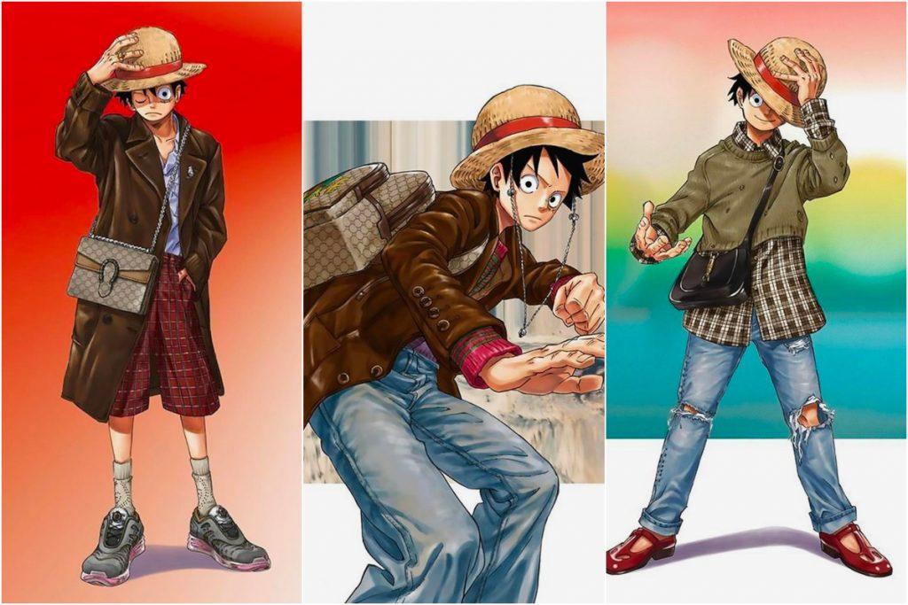 Eiichiro Oda tái hiện BST Gucci theo phong cách One Piece