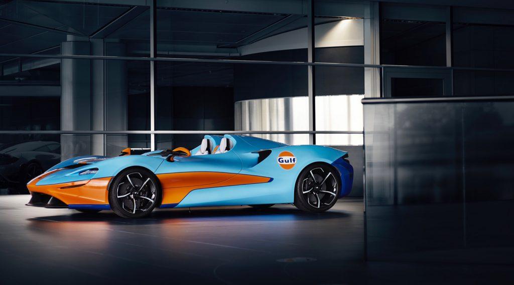 McLaren Elva Gulf Theme: Dấu ấn khác biệt trong thế giới siêu xe