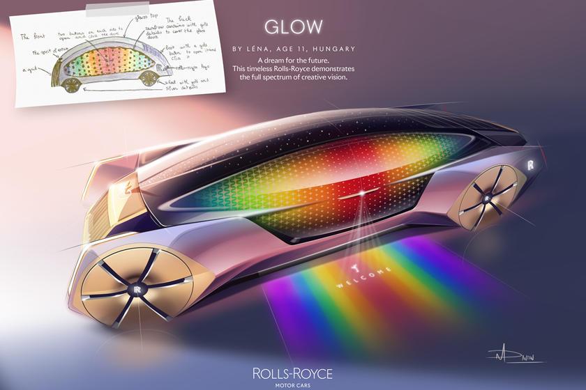Một chiếc Rolls-Royce sẽ trông táo bạo ra sao từ trí tưởng tượng của các nhà thiết kế nhỏ tuổi?