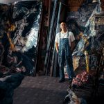 Phạm Thanh Toàn – Chất ngông và sâu của chàng họa sĩ trẻ qua những bức họa khổ lớn