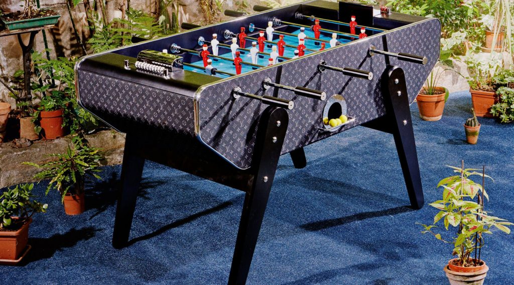 Louis Vuitton ra mắt bộ đồ chơi banh bàn bằng da mới: chơi cũng phải có phong cách
