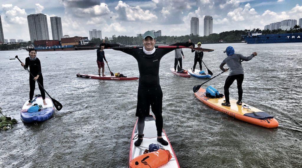 #SaigonFitnessSeries: Tuấn Hồ, chàng doanh nhân có niềm đam mê lớn với môn thể thao chèo thuyền đứng
