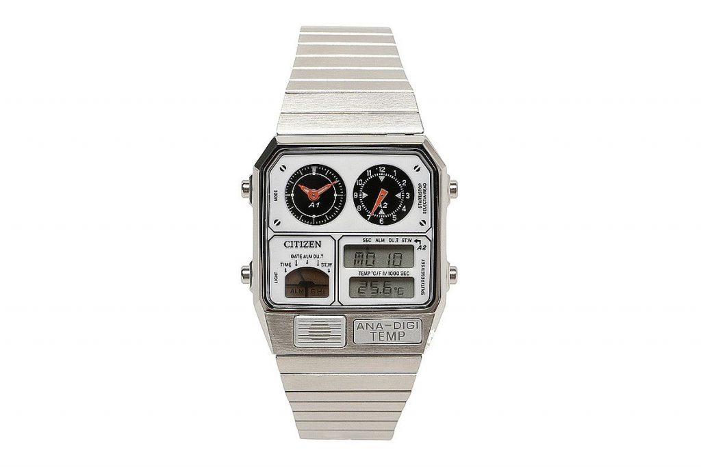 Beam Citizen Ana-Digi temp: Không phải thời của chúng ta, chiếc đồng hồ này để sống lại phong cách những năm 1980
