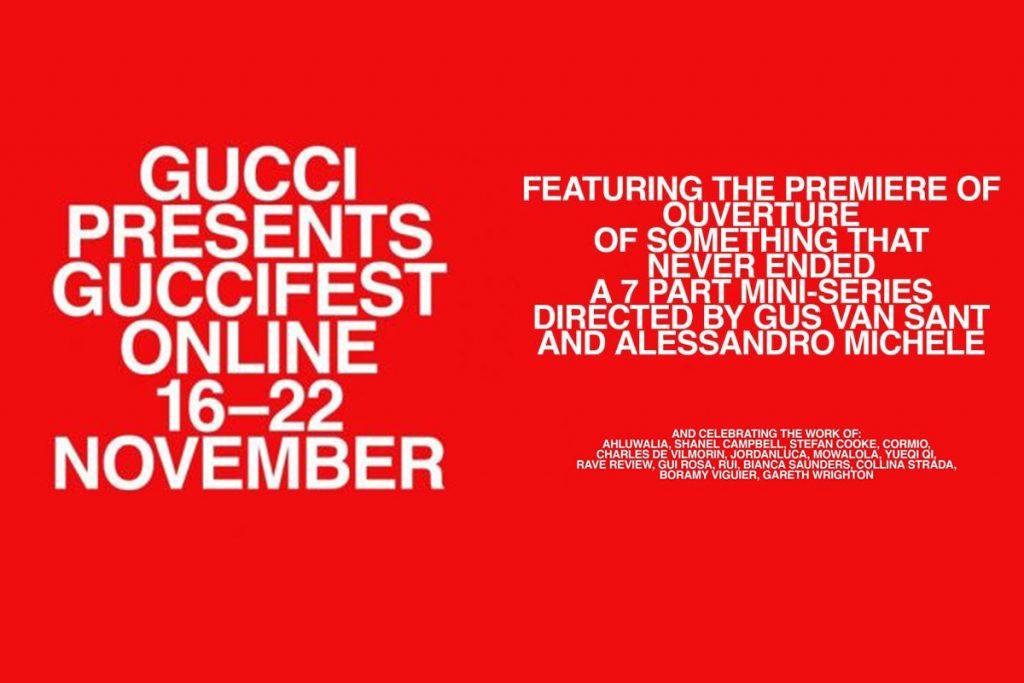 Gucci giới thiệu bộ sưu tập trong khuôn khổ liên hoan thời trang & phim ảnh GucciFest