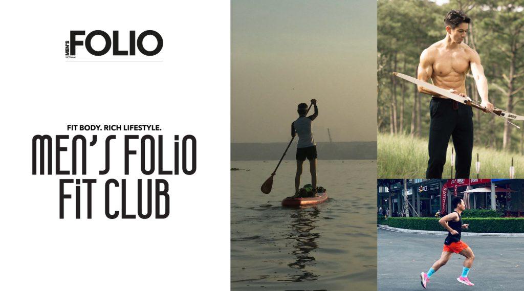 Men's Folio Fit Club chính thức ra mắt: Chuyên mục xây dựng lối sống thể thao cho nam giới