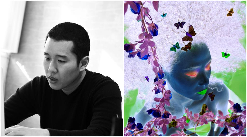 Thế giới ngược qua tác phẩm hội họa đậm màu âm bản của Koh Sang Woo