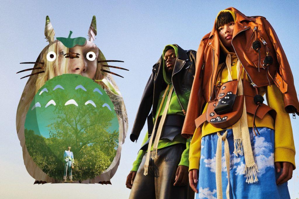 Loewe ra mắt bộ sưu tập capsule lấy cảm hứng từ linh vật Totoro