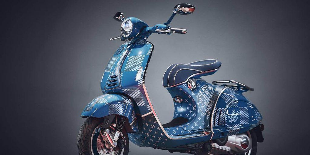 Vespa 946 Louis Vuitton – Tác phẩm nghệ thuật, chỉ 01 chiếc trên thế giới