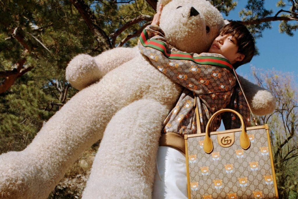 Hé lộ bộ sưu tập KAI X GUCCI: Ngập tràn sự dễ thương với họa tiết chú gấu