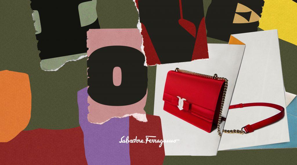 Salvatore Ferragamo gợi ý quà tặng tình yêu với chiếc túi khóa tim sắc đỏ