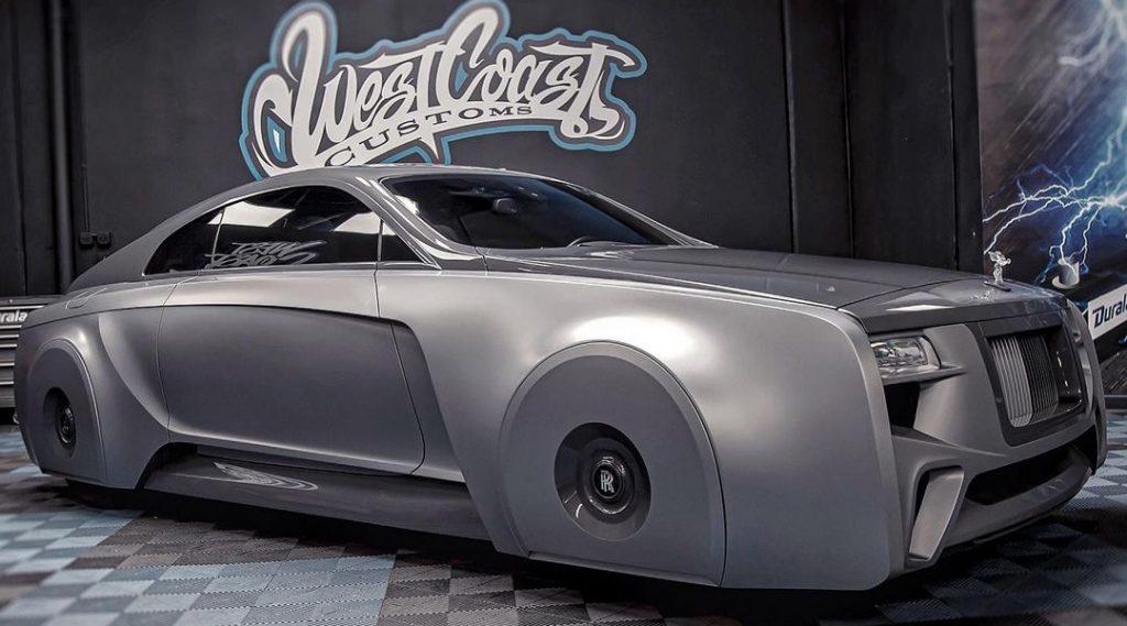 Chiêm ngưỡng siêu xe Rolls-Royce Wraith 103EX độ cực chất của Justin Bieber