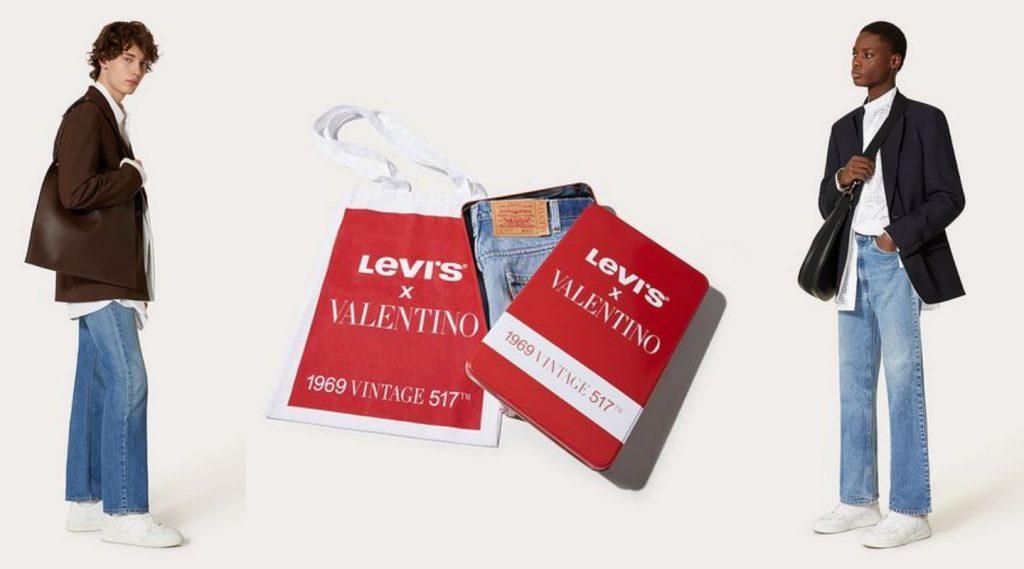 Dòng quần jeans Levi's x Valentino mở bán giới hạn 517 chiếc