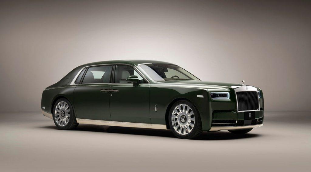 Nâng tầm xa xỉ với phiên bản Rolls-Royce Phantom Oribe x Hermès