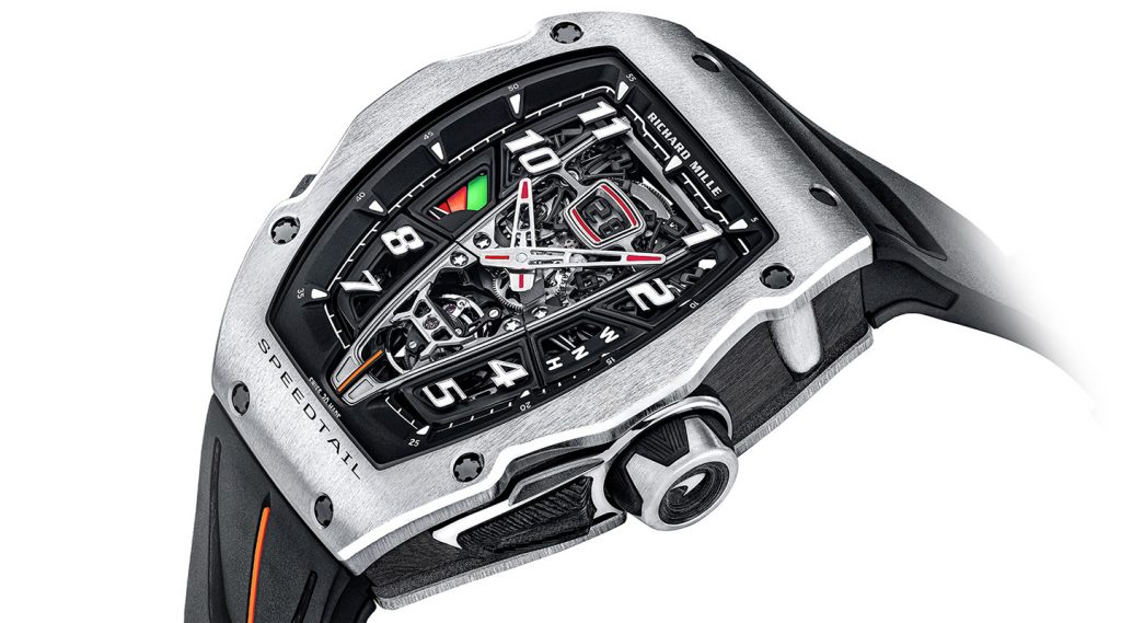 Richard Mille RM 40-01 Automatic Tourbillon McLaren Speedtail: Phô diễn nét đẹp từ thế giới cơ khí