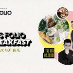 Men's Folio chính thức ra mắt series video Go Breakfast – Hot Guy, Hot Bite!