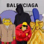 Balenciaga Xuân Hè 2022: Thời trang là chính, The Simpsons là 10!